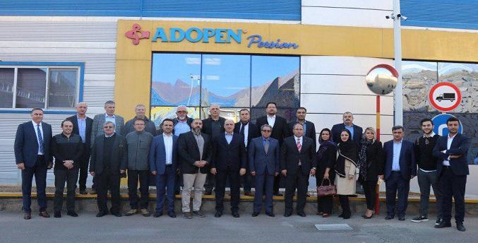 بازدید هیات تجاری ترکیه از آدوپن پلاستیک پرشین «وینتک»