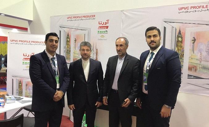 حضور کیان پن در سیزدهمین نمایشگاه بینالمللی جنرال عراق