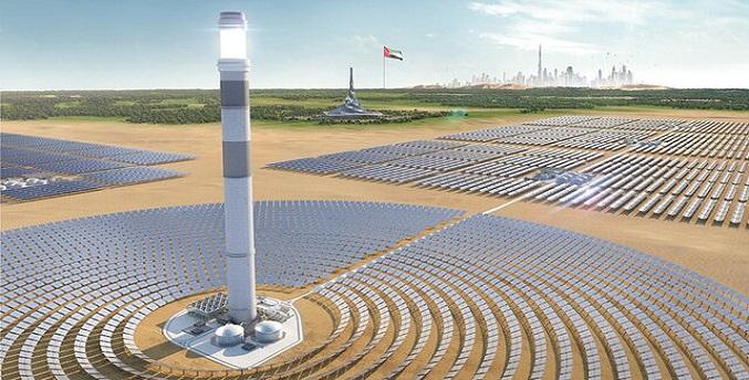 احداث بزرگترین برج تولید انرژی خورشیدی در دوبی