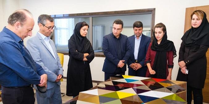 بازدید جمعی از مدیران مرکز تحقیقات راه، مسکن و شهرسازی از وینتک