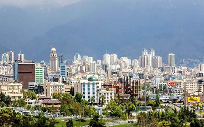 نقشه بازار مسکن تهران در خرداد 98