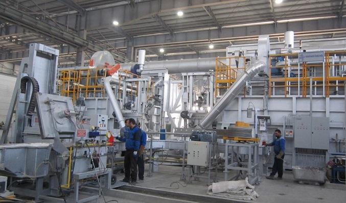 تصویر آماری تولید در صنایع آلومینیوم