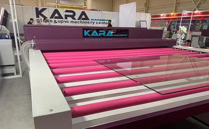 تولید دستگاه پیشرفته شستشوی شیشه فول آپشن در کارا