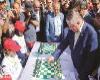 مسابقه بزرگ شطرنج سیمولتانه تبریز با حمایت هافمن
