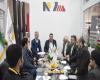 بازدید هیات مدیره سندیکای آلومینیوم از نمایشگاه ایران متافو