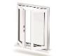 مقایسه عملکرد پنجره دو جداره یو.پی.وی.سی در شرایط استفاده از پروفیل سری 60 (سه محفظه) و پروفیل سری 70 (پنج محفظه) در آزمون نفوذ آب، نفوذپذیری هوا و مقاومت در برابر فشار باد