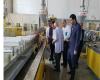 بازدید بازرگانان کرکوک عراق از خط تولید سیندژ