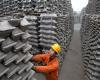 کاهش چشمگیر صادرات آلومینیوم کارنشده چین